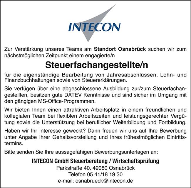 Jobs Osnabrück Vollzeit : steuerfachangestellter steuerfachangestellte m w d am ~ Watch28wear.com Haus und Dekorationen