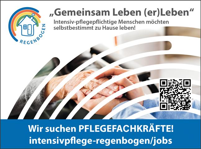 Pflegefachkräfte m/w - Intensivpflege Regenbogen GmbH - in Lennestadt - stellenecho.de