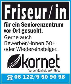 Friseurin / Friseur  für ein Seniorenheim vor Ort gesucht - WIGO Werbeagentur - in Herzlake - stellenecho.de